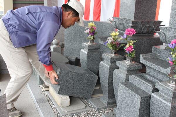 納骨の方法(一般墓石の場合)